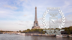 CINECAFEST INT. BEST SHORT Finalist  Paris Day And Night.png
