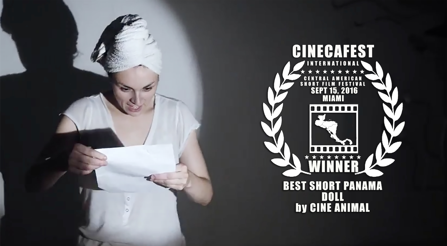 CINECAFEST BEST SHORT PANAMA DOLL.png