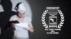 CINECAFEST BEST SHORT PANAMA DOLL.png