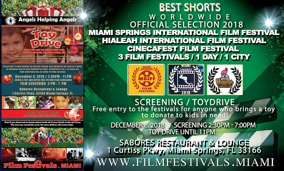 ToyDrive and Film Festival Miami Springs