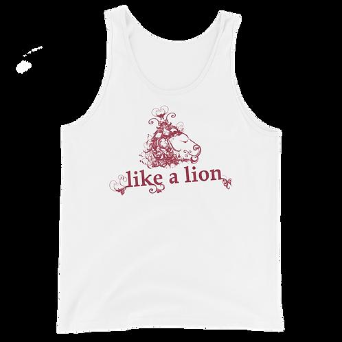 Like a Lion Unisex Tank Top