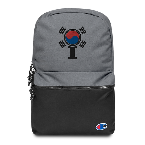 Inspired South Korea Embroidered Champion Backpack