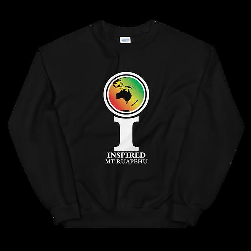 Inspired Mt Ruapehu Classic Icon Unisex Sweatshirt