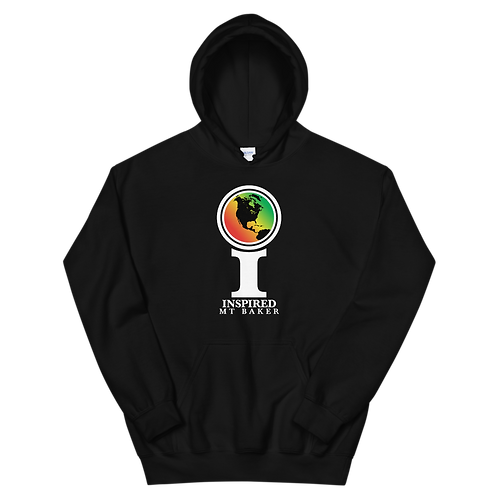 Inspired Mt Baker Classic Icon Unisex Hoodie