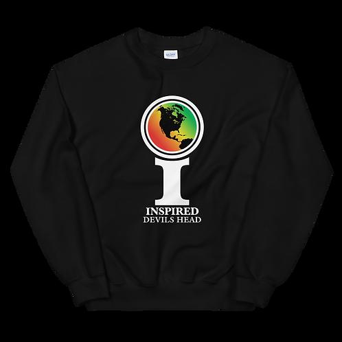 Inspired Devils Head Classic Icon Unisex Sweatshirt