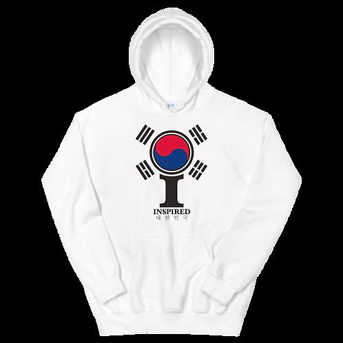 Inspired 대한민국 (South Korea) Classic Icon Unisex Hoodie
