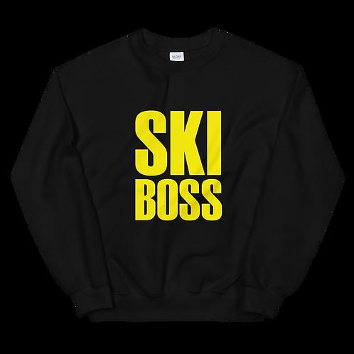 """Inspired """"Ski Boss"""" Unisex Sweatshirt"""