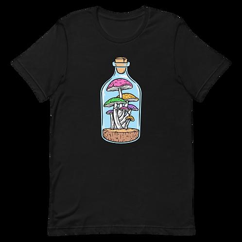 Bottled Mushrooms Unisex T-Shirt