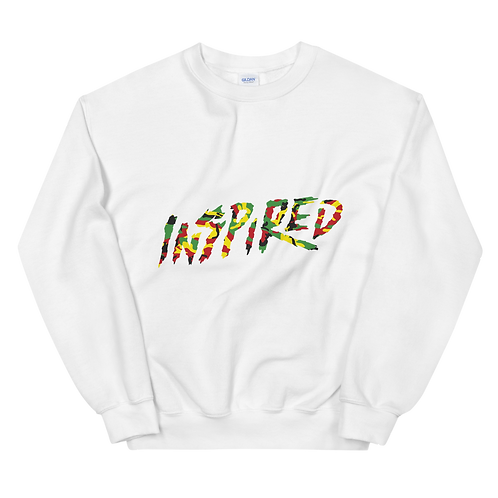 Inspired Rasta Camo Unisex Sweatshirt