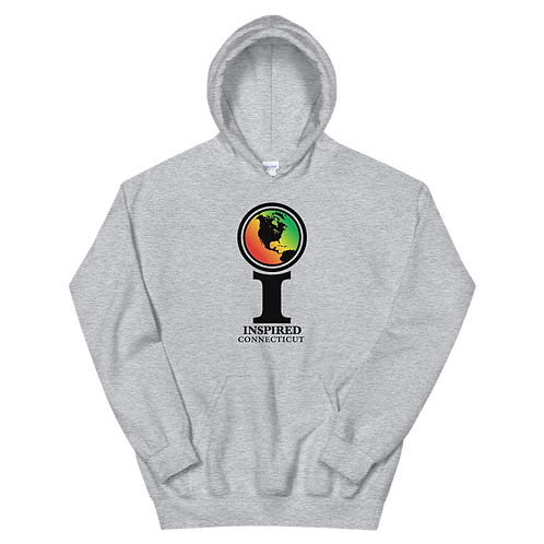 Inspired Connecticut Classic Icon Unisex Hoodie