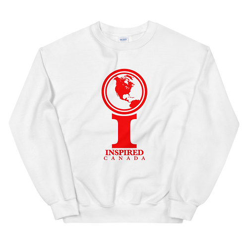 Inspired Canada Classic Icon Unisex Sweatshirt [Red]