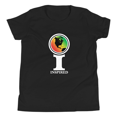Inspired North America Classic Icon Youth Short Sleeve T-Shirt