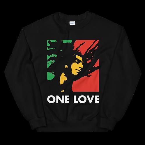 "Inspired ""ONE LOVE"" Unisex Sweatshirt"