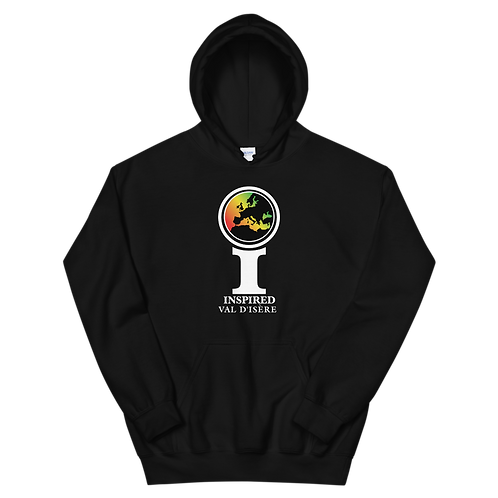 Inspired Val d'Isère Classic Icon Unisex Hoodie