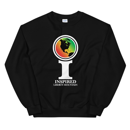 Inspired Liberty Mountain Classic Icon Unisex Sweatshirt
