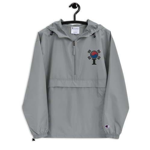 Inspired South Korea Classic Icon Embroidered Champion Packable Jacket