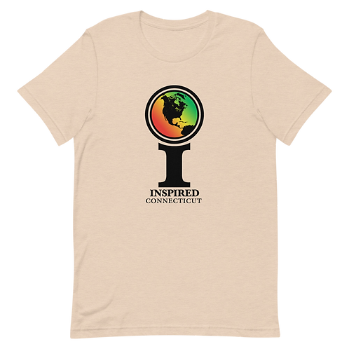 Inspired Connecticut Classic Icon Unisex T-Shirt