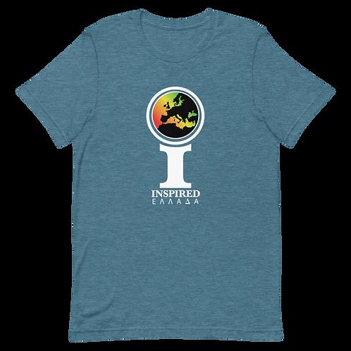 Inspired Ελλάδα (Greece) Classic Icon Unisex T-Shirt