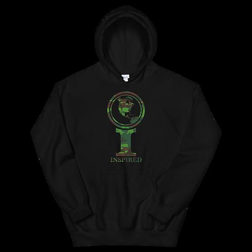 Inspired North America Camo Icon Unisex Hoodie