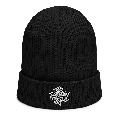 The Education of Style Organic Ribbed Beanie