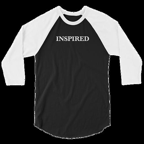 Inspired 3/4 Sleeve Raglan Shirt