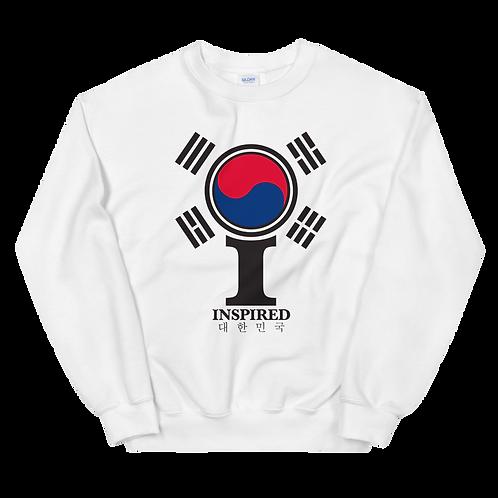 Inspired 대한민국 (South Korea) Classic Icon Unisex Sweatshirt