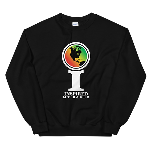 Inspired Mt Baker Classic Icon Unisex Sweatshirt