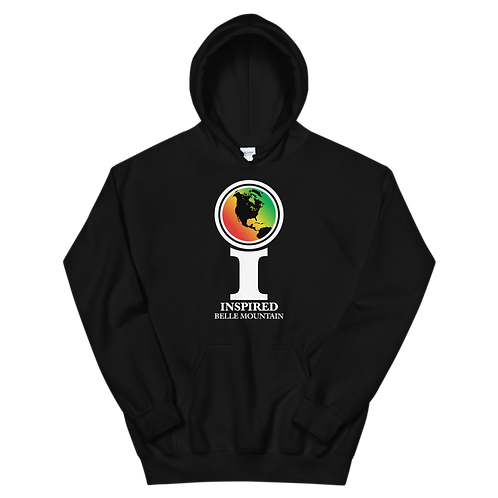Inspired Belle Mountain Classic Icon Unisex Hoodie