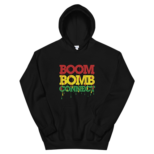 """Inspired """"BOOM BOMB CONNECT"""" Unisex Hoodie"""