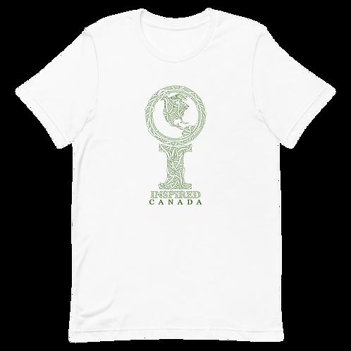 Inspired Canada Ganja Icon Unisex T-Shirt