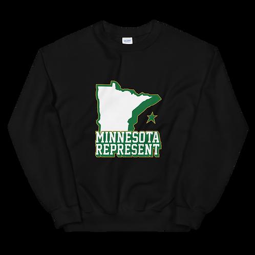"""Inspired """"Minnesota Represent"""" Unisex Sweatshirt"""