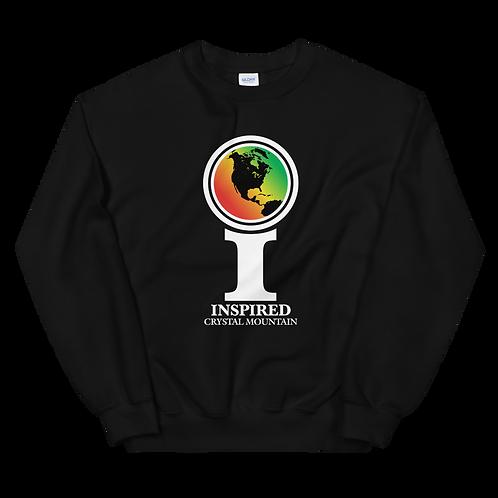 Inspired Crystal Mountain Classic Icon Unisex Sweatshirt