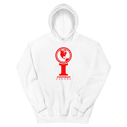 Inspired Canada Classic Icon Unisex Hoodie [Red]