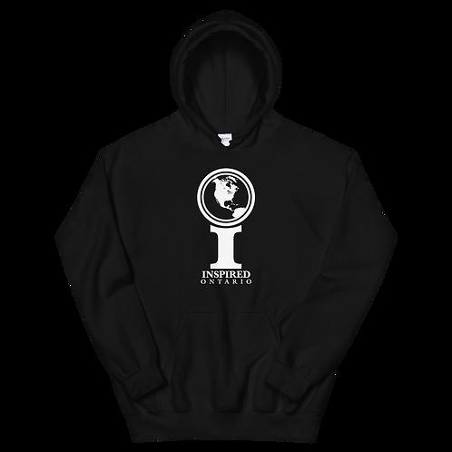 Inspired Ontario Classic Icon Unisex Hoodie [White]