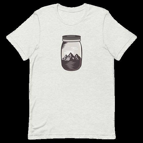 Mountains in a Mason Unisex T-Shirt