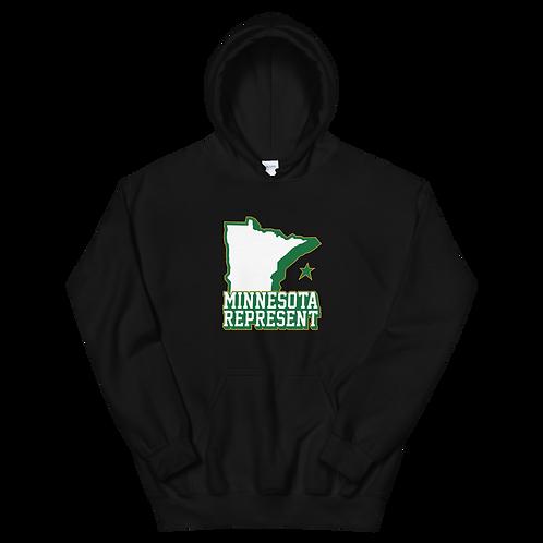 "Inspired ""Minnesota Represent"" Unisex Hoodie"