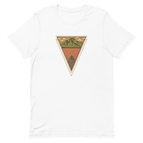 Lake Fishing Unisex T-Shirt