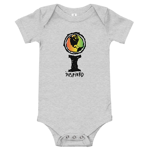 Inspired Icon Crayon Baby Onesie