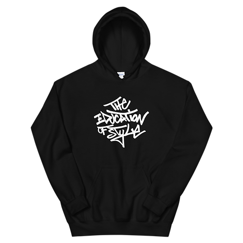 The Education of Style Unisex Hoodie