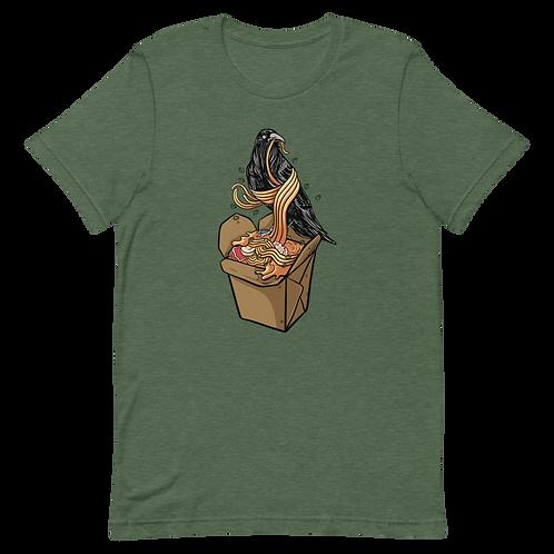 Raven and Ramen Unisex T-Shirt