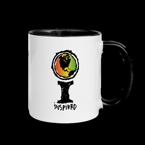 Inspired Crayon Logo Mug with Color Inside