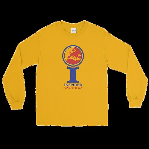 Inspired Andorra Men's Long Sleeve Shirt