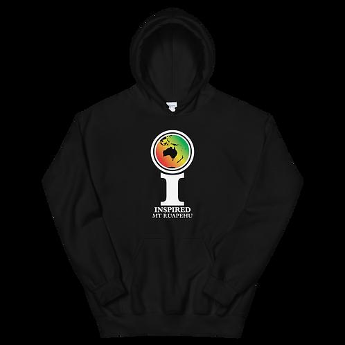 Inspired Mt Ruapehu Classic Icon Unisex Hoodie