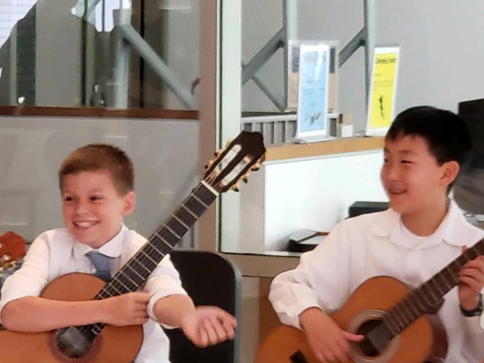 Parker and Noah