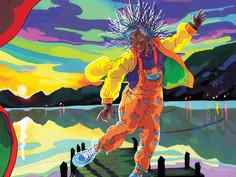 L'affiche dansante du Festival d'Annecy 2021