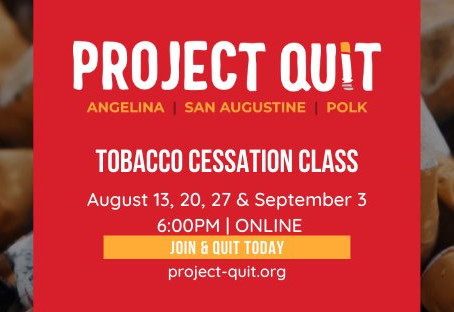 Online Cessation Classes Starting August 13th