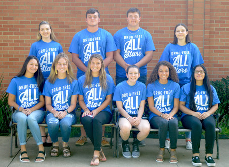 Huntington ISD Drug-Free All Stars 2019-2020