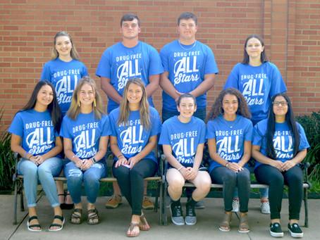 Huntington ISD Drug-Free All Stars 2019-2020
