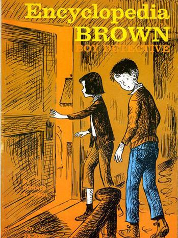 Encyclopedia Brown Boy Detective cover