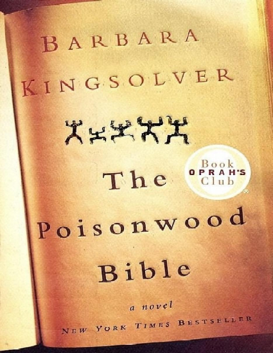 Poisonwood Bible Cover